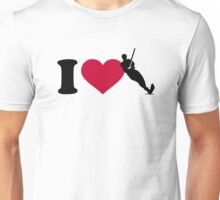 I love Water ski Unisex T-Shirt