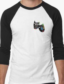 Theatre Masks Collage Men's Baseball ¾ T-Shirt