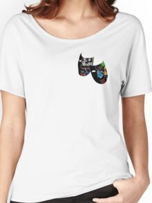 Theatre Masks Collage Women's Relaxed Fit T-Shirt