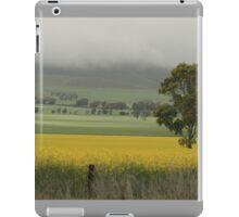 canola fields, near Auburn, South Australia. iPad Case/Skin