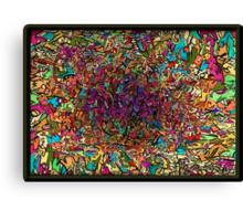 Color Explosion ! Picture Broken ! Canvas Print