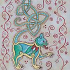 Celtic Cattus #1 by Beth Clark-McDonal