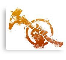 Red Faction Guerrilla Metal Print
