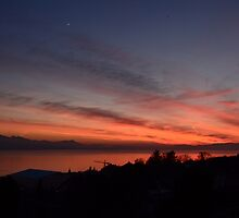 Swiss Sunset 10 by Monica Carvalho