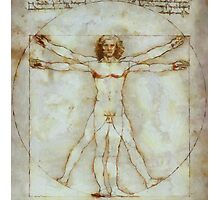Vitruvian Man after da Vinci by Pierre Blanchard Photographic Print