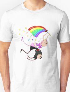Funny siamese twins fairies. Unisex T-Shirt