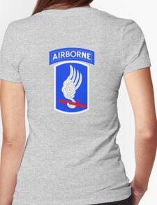 173rd Airborne Brigade Combat Team (US Army) Womens Fitted T-Shirt