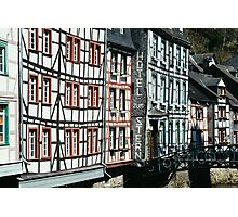 Monschau Hotel Photographic Print