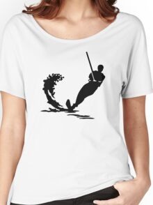 Water skiing Women's Relaxed Fit T-Shirt