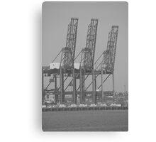 """""""Cranes"""" Canvas Print"""