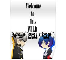 Welcom To This Wild Maze of Life - PersonaQ Poster