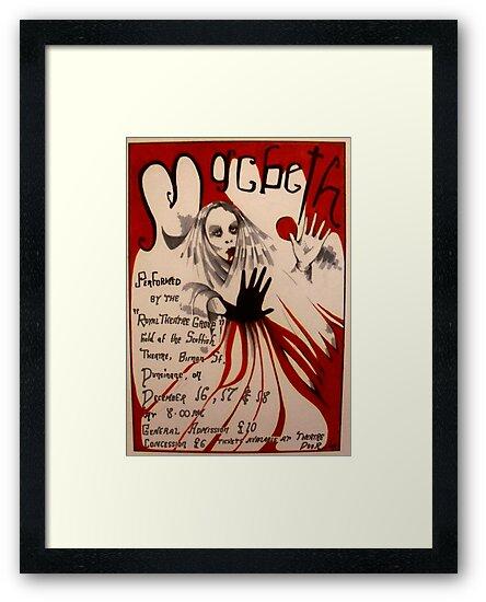MacBeth ( Theatre Poster ) by John Dicandia  ( JinnDoW )