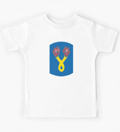 196th Infantry Brigade (United States) Kids Tee