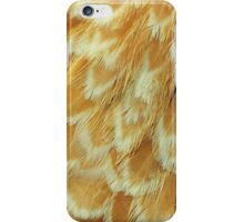 Fashionable Feathers  - Chic Chamois,  White Laced  iPhone Case/Skin