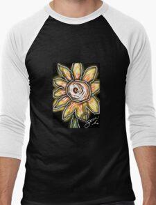 Night of the sunflowers Men's Baseball ¾ T-Shirt