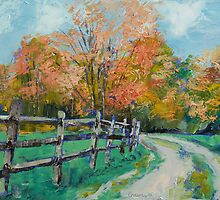 Old Country Road by Michael Creese