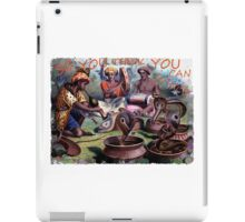 Painting of snake charmers iPad Case/Skin