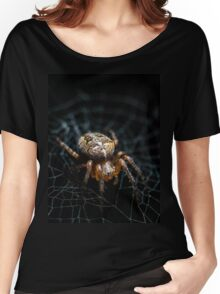 Spider on the Web  Women's Relaxed Fit T-Shirt