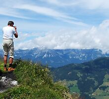 Mountain veiw in Austria by BarryDawson