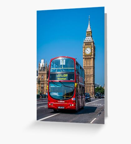London Postcard Greeting Card