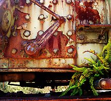 Rusting Engine by Eve Parry