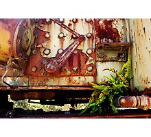 Rusting Engine Photographic Print