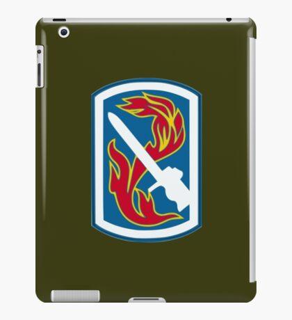 198th Infantry Brigade (United States) iPad Case/Skin