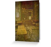 Autochrome Paris - Latin Quarter Bistro Greeting Card