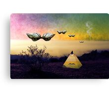Search the boundaries to find the peace you seek Canvas Print