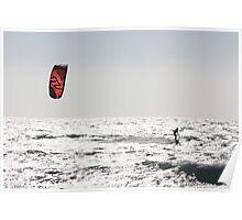 Kite surfing 7743 Poster