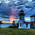 God's Lighthouse II by Rick Lawler