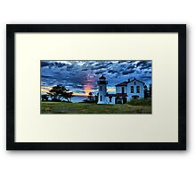 God's Lighthouse II Framed Print