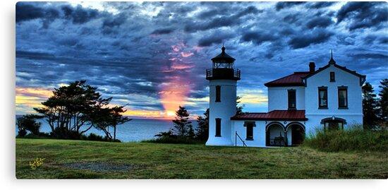 God's Lighthouse II by Rick Lawler