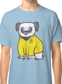 Yellow Shirt - Pug Trek Classic T-Shirt