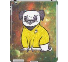 Yellow Shirt - Pug Trek iPad Case/Skin