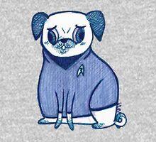 Blue Shirt - Pug Trek Womens Fitted T-Shirt