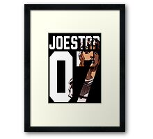 Johnny joestar 07 Framed Print