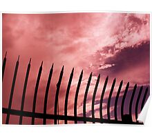 Thorns Against a Rosy Sky Poster