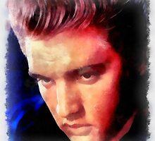 Elvis Presley by John Springfield by esotericaart
