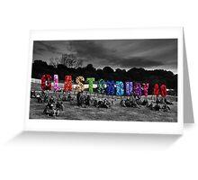 Glastonbury 40th Birthday Greeting Card