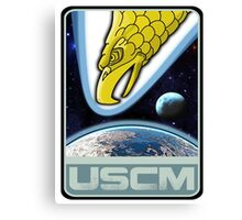 USCM squad of ultimate bad*sses Canvas Print