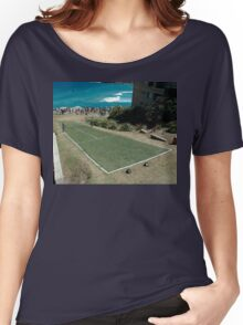 Level Playing Field, Sculptures By The Sea 2006 Women's Relaxed Fit T-Shirt