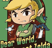 Dear World, I'm not Zelda by Akiwa