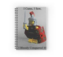 I came, I saw, I bloody conquered it! Spiral Notebook