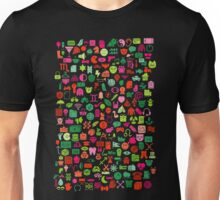 Iconography in Black Unisex T-Shirt