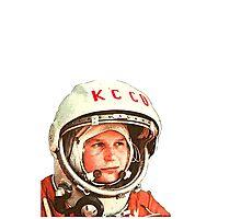 Keep Calm Cosmonaut (Colour) Photographic Print