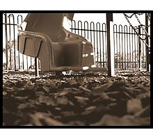 Playground Slide Photographic Print