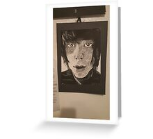 Christopher drew - Never Shout Never Greeting Card