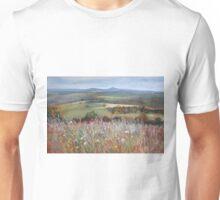 'Meadow Grasses, Anzac Hill' (Seymour) Unisex T-Shirt