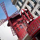 le moulin célèbre by Dan A'Vard